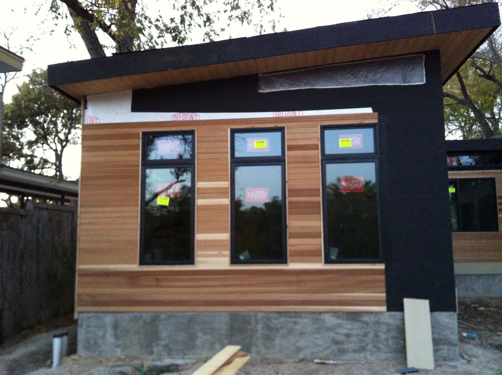 Custom Prefabricated Modern House - Johnston Contracting ... on Contemporary Siding  id=24888