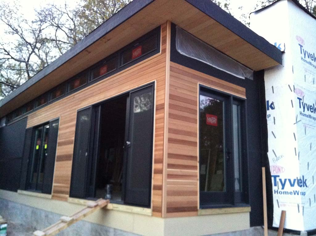 Custom Prefabricated Modern House Johnston Contracting